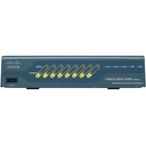 Cisco ASA5505-BUN-K9 ASA 5505 Appliance, 10 Users, 8 ports, 3DES/AES