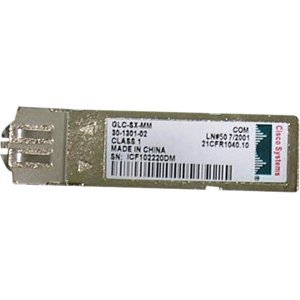 Cisco GLC-SX-MM GE SFP, LC Connector SX Transceiver Ref