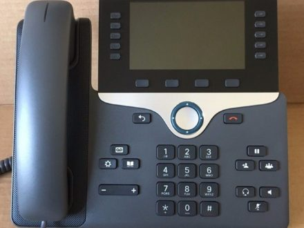 Genuine Cisco CP-8841-K9 VoIP IP PoE Color LCD Display Phone