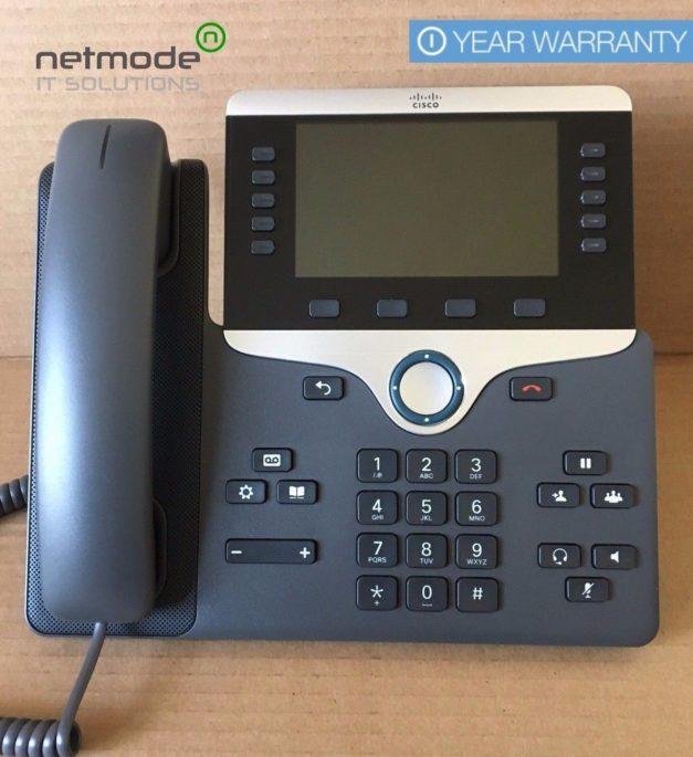 Genuine Cisco CP-8841-K9 VoIP IP PoE Color LCD Display Phone