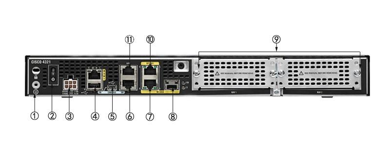 New Cisco ISR4321/K9 50Mbps-100Mbps system throughtput, 2 WAN/LAN ports, 1  SFP port, multi-Core CPU,2 NIM, Security, Voice, WAAS, Intelligent WAN,