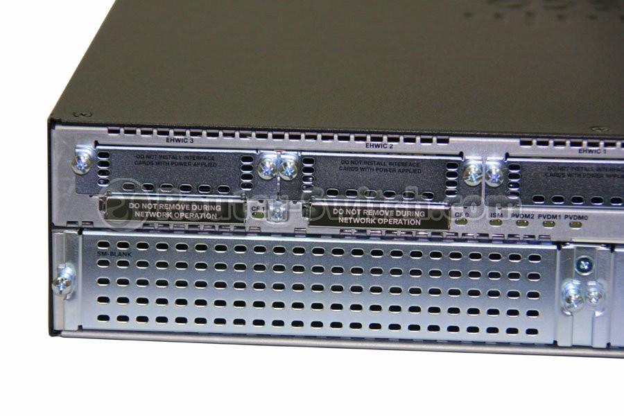 New CISCO2921/K9 Cisco 2921 Router w/3 GE,4 EHWIC,3 DSP,1 SM,256MB CF,512MB  DRAM,IPB
