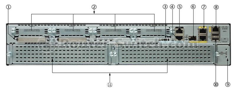 New CISCO2921-V/K9 Cisco 2921 Voice Bundle, PVDM3-32, UC License PAK