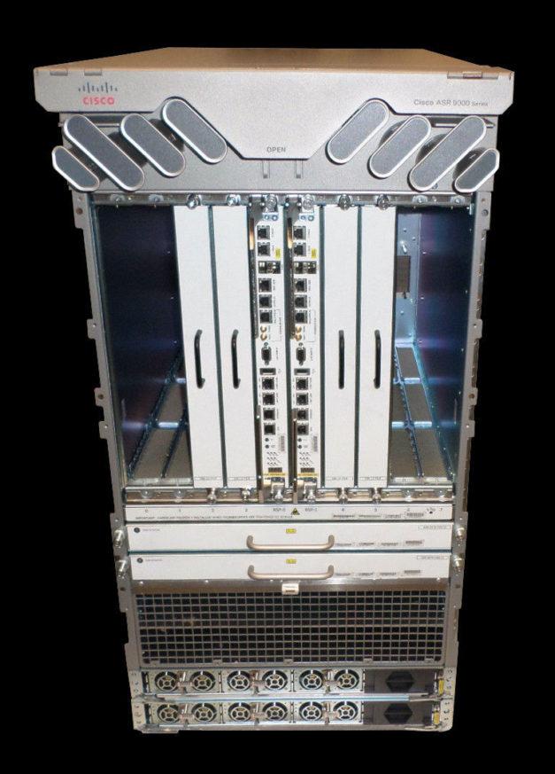 Cisco ASR-9010-AC Router, PWR-3KW-AC-V2-Seller refurbished