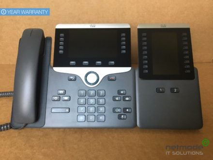 Cisco CP-8851-K9 VoIP IP PoE Color LCD Display Phone