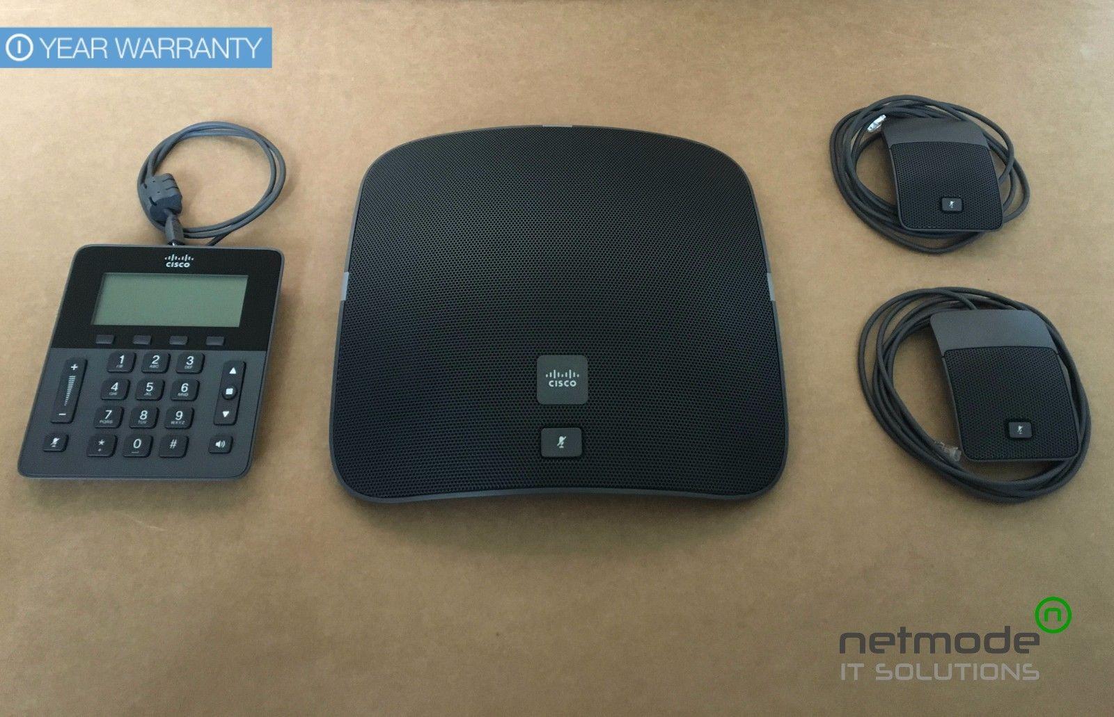 Cisco CP-8831-K9 IP Conference Station Set Up 8831 VoIP Phone + Base + Mic  Kit-refurbished