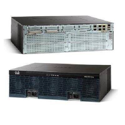 New C3945-VSEC/K9 Cisco 3945 Voice Sec  Bundle, PVDM3-64, UC and SEC  License P