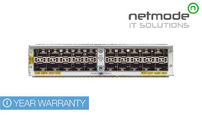 Cisco Cisco A9K-MPA-20X10GE Module 20-port 10-Gigabit Port Adapter ASR  9000-New