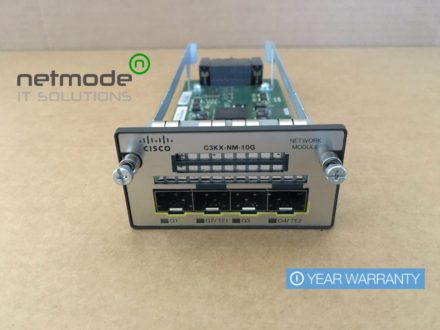 Cisco C3KX-NM-10G 4-Port 10 Gigabit