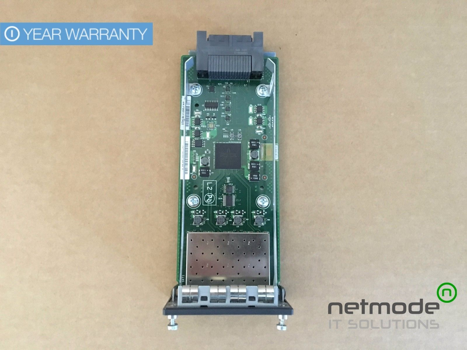 Cisco C3KX-NM-10G 10GB SFP 1 Year Warranty Module for 3750X 3560X Switches
