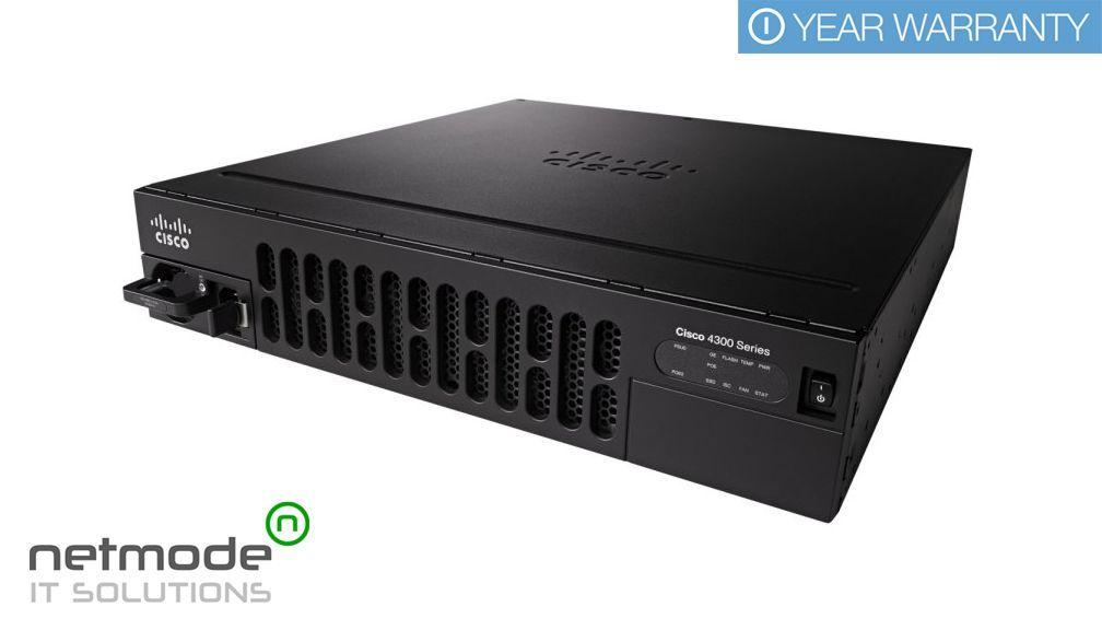 NEW Sealed CISCO ISR4351-SEC/K9 ISR 4351 Security GE PoE Router •  SmartNet Ready - New