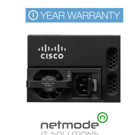 New Genuine Cisco PWR-4450-AC PoE Power Supply