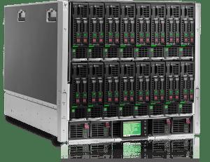 HP ProLiant c7000 4x BL460c G8 2x E5-2670